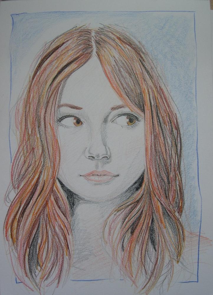 Karen Gillan by Garance55
